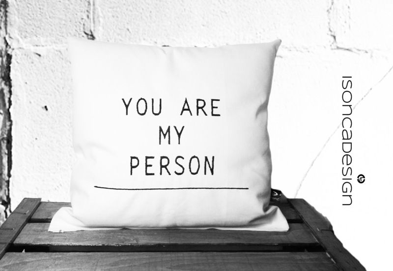 To Cuddle With The Favorite Person Wedding Gift Idea Cushion