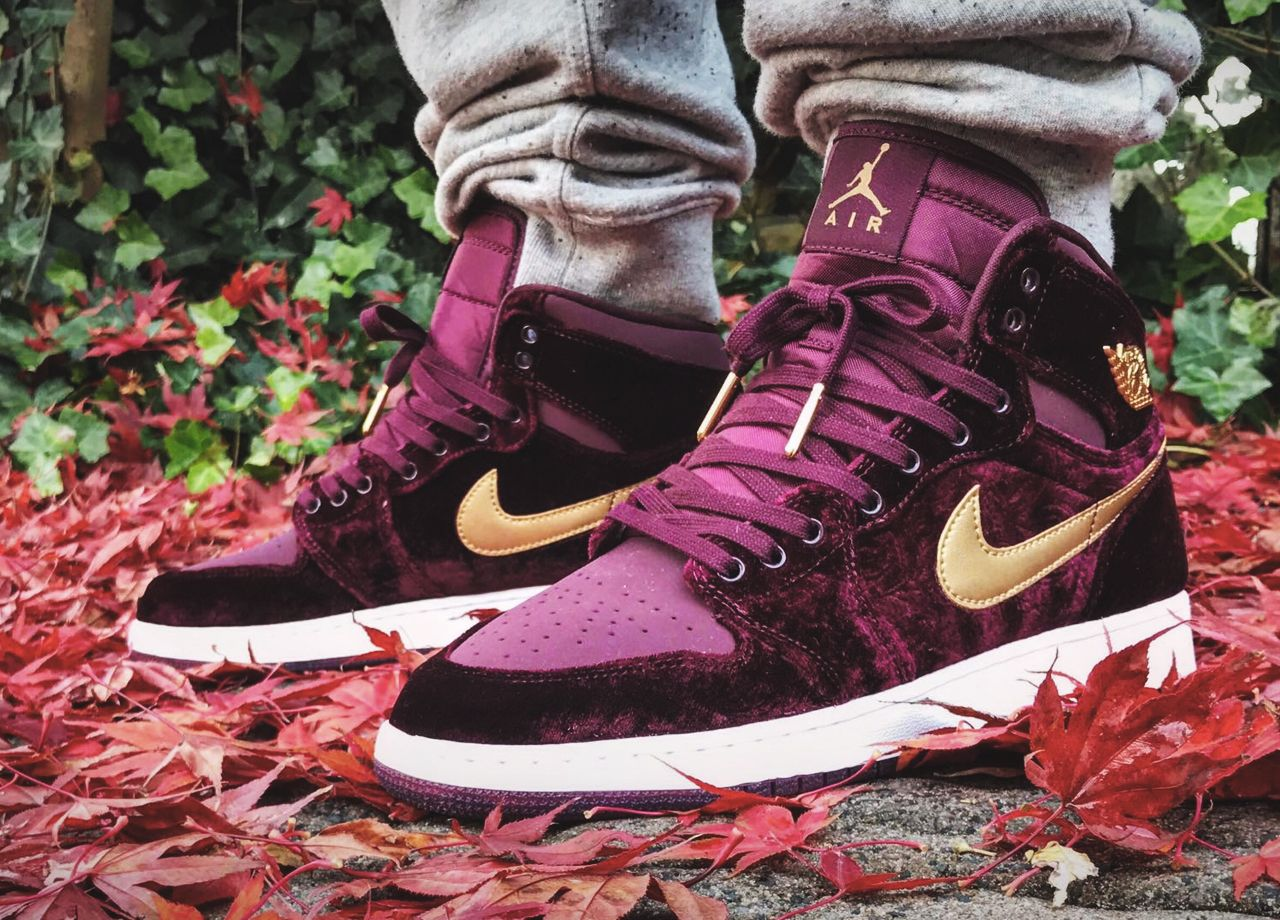 Nike Air Jordan 1 Heiress 'Velvet' - 2016 (by... –