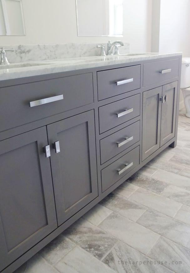 How Much Do Custom Bathroom Vanities Cost classic gray and white bathroom | vanities, blog and bath
