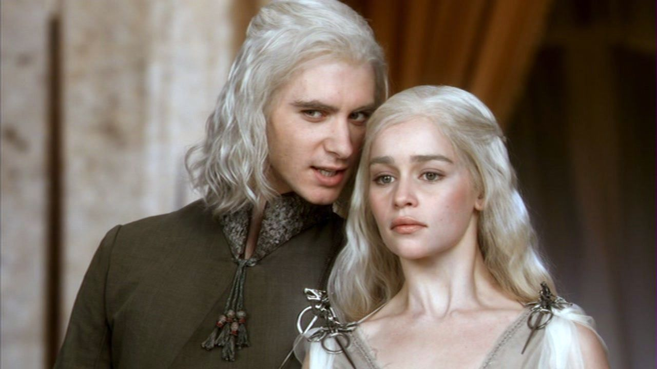 Daenerys targaryen and khal drogo wallpaper daenerys targaryen wedding - Khal Drogo Daenerys And Viserys Targaryen