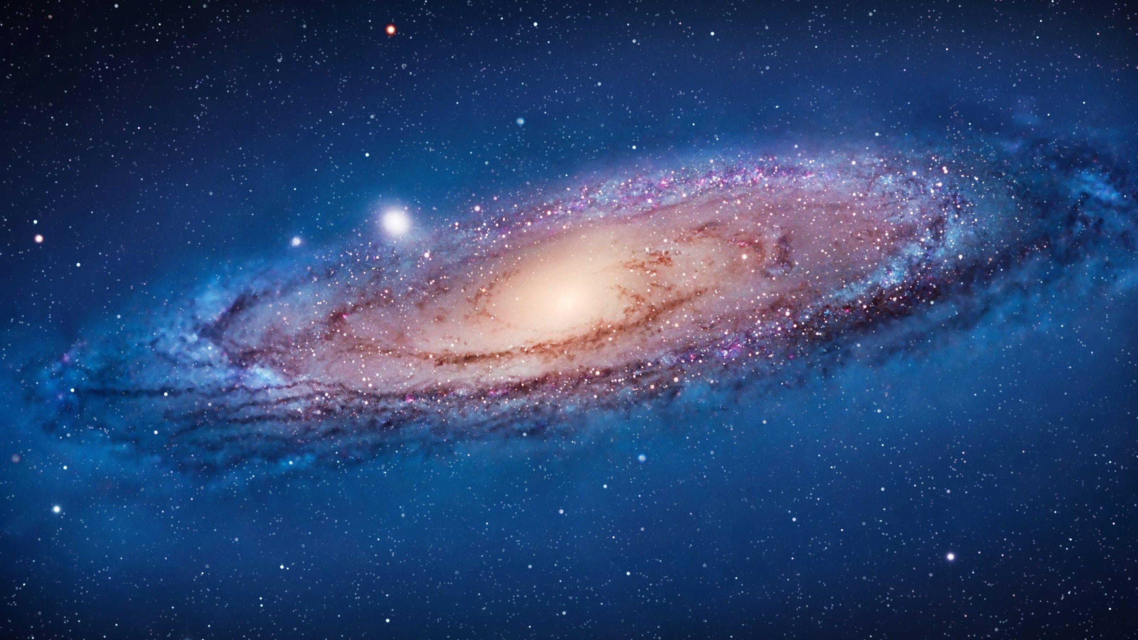Widescreen Galaxy Galaxia Espiral Via Lactea Constelacao De Gemeos