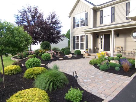 Foundation plantings created by Bristol's Garden Center ...