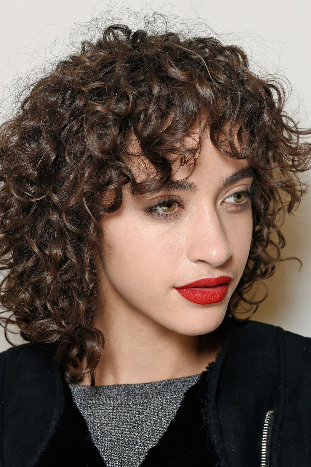 Max Mara Gettyimages 512194382 Short Curly Haircuts