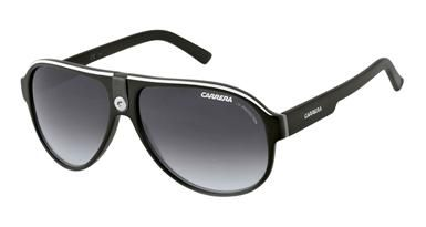 Carrera 32/S Sunglasses in  Black Colorway with Dark Grey Gradient Lenses