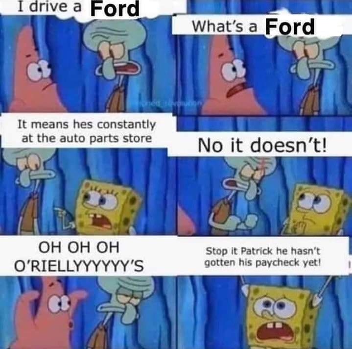 Mazda is better than ford. Fight me . .