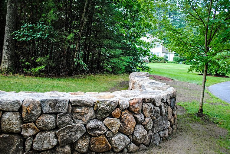 Natural Building Stones : Building a dry stone wall google search rock