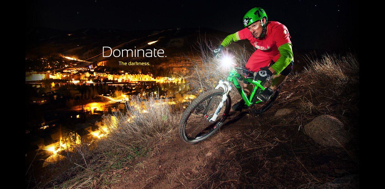 Dominate The Darkness Mountain Bike Lights Best Mountain Bikes