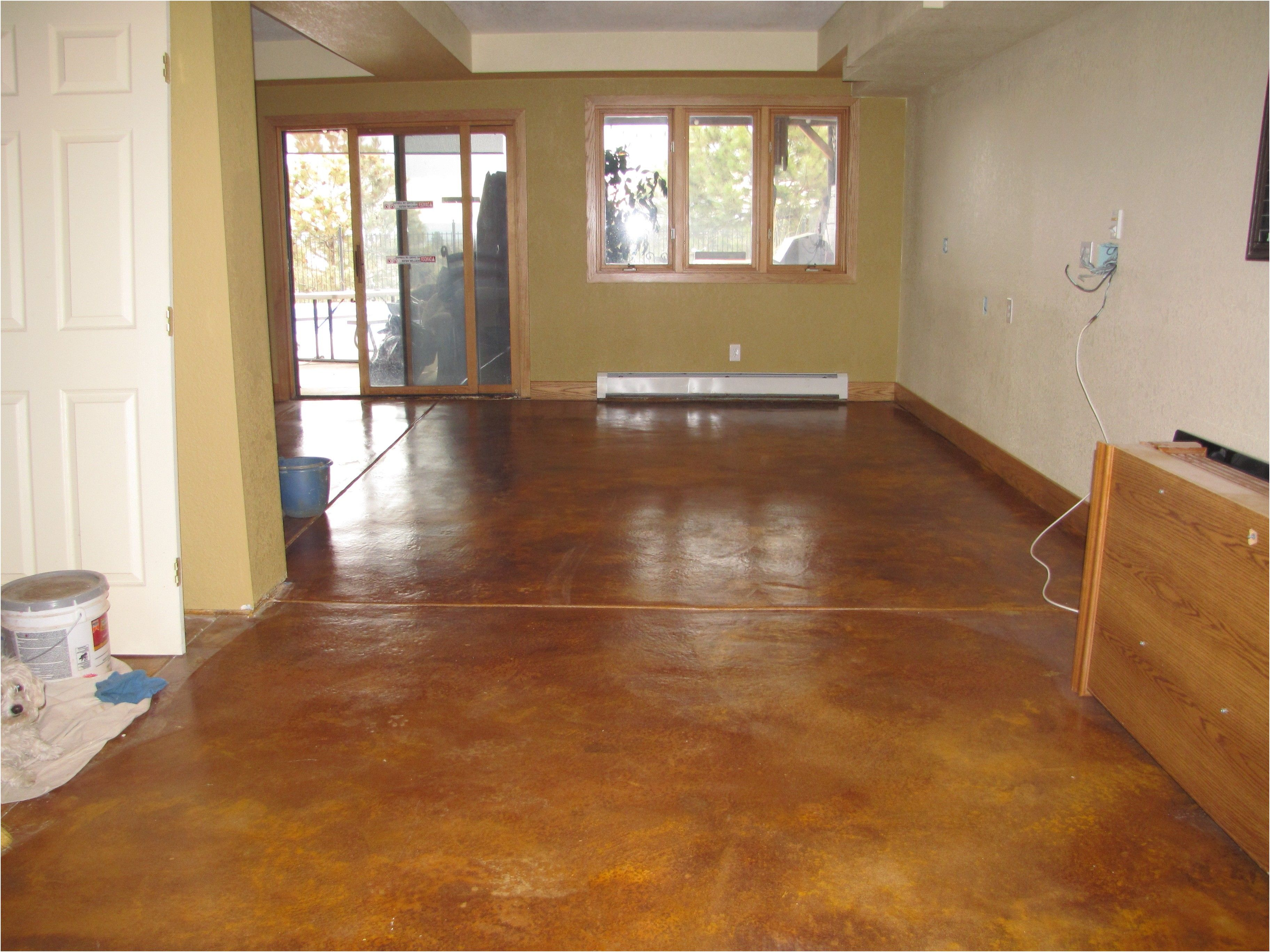 how to paint the basement floor using basement floor paint from How