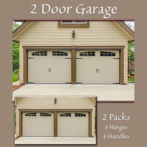Decorative Magnetic Hold Garage Carriage Door Accent Handles