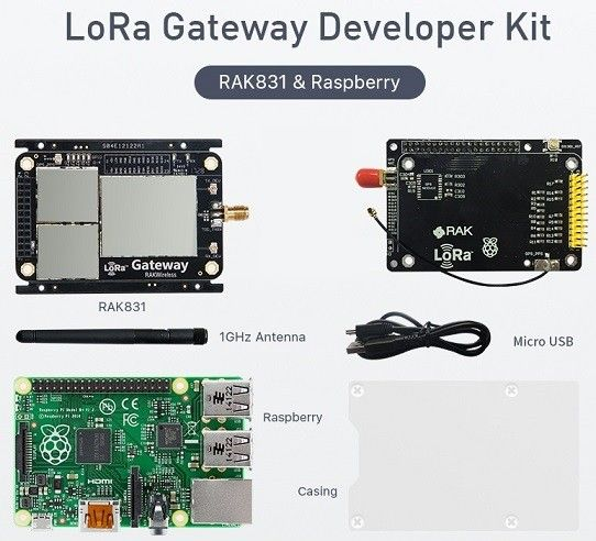 LoRa/ LoRaWAN Gateway Developer Kit with Raspberry Pi in 2019 | IOT