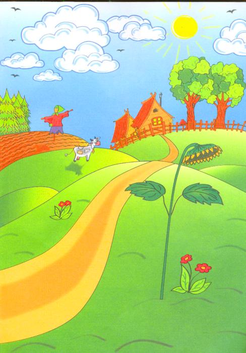 Дорожки на картинке для детей