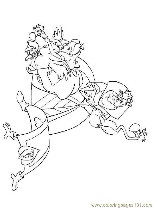 Alice In Wonderland (2) Coloring Page | Coloring pages | Pinterest