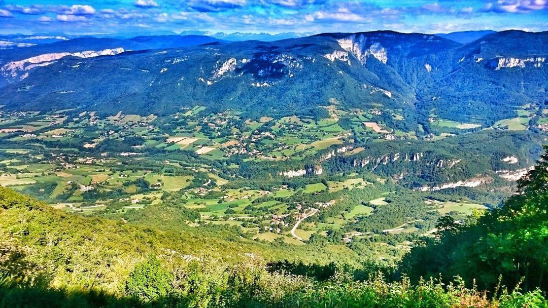 #aufildelaroute depuis la montée du relais de Musan.  #paysage du #vercors