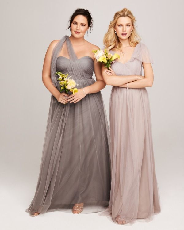 The best styles for plus-size modest bridesmaid dresses ...