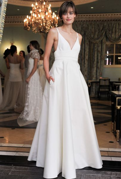 The Most Beautiful Simple Wedding Dresses For Understated Bride Stylecaster
