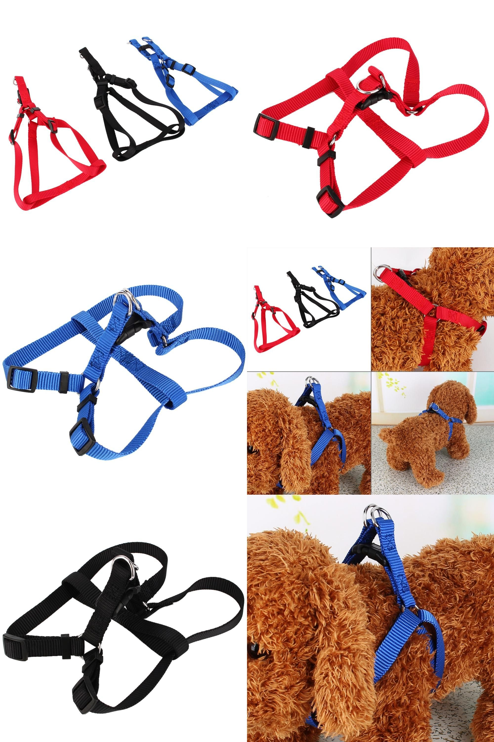 [Visit to Buy] Durable Nylon Pet dog Harness Strap Collar Comfortable For Dog Leads Puppy Harness Cloth For Dog pet #Advertisement