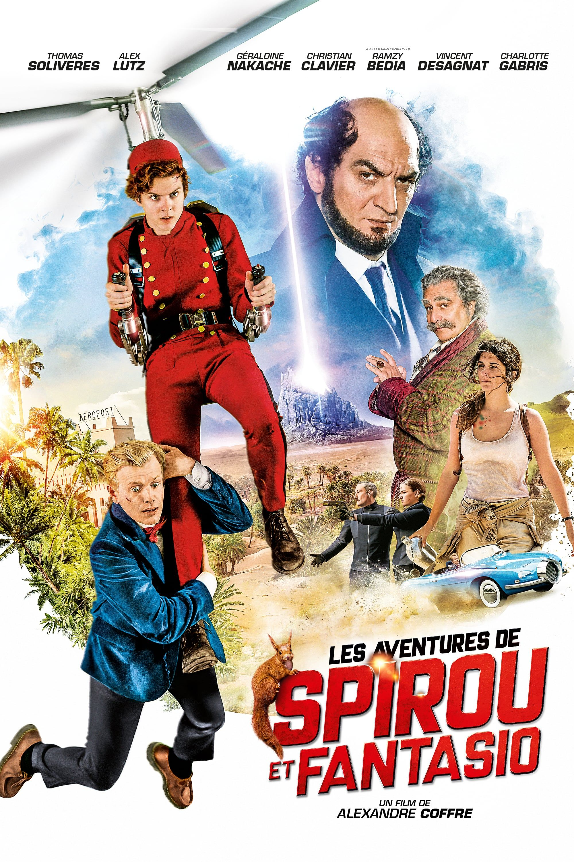 Spirou & Fantasio's Big Adventures FULL MOVIE HD1080p Sub English Play For  FREE