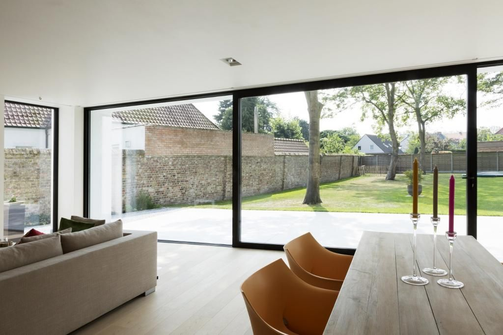 Villa reynaers aluminium netwerk huizen pinterest maison
