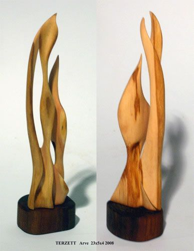 holz skulpturen terzett holzskulpturen wood. Black Bedroom Furniture Sets. Home Design Ideas