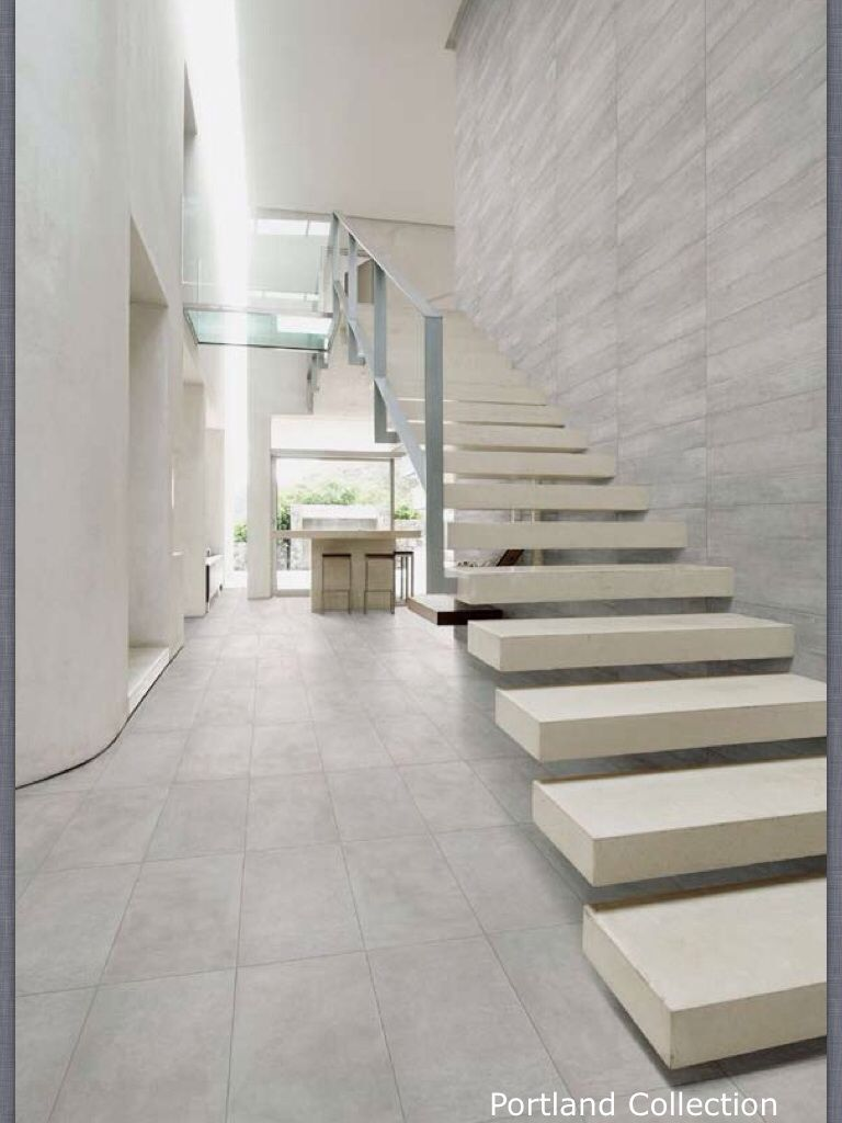Portland Grigio Floor Tiles Tiles Stairs Flooring