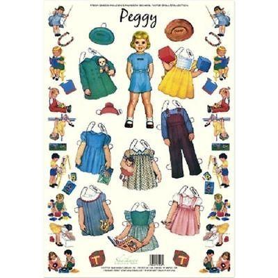Shackman Pam Queen Holden/'S Nursery School Paper Doll /& Clothes Set #Shk-34