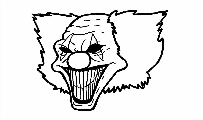 12 Magnifique Coloriage De Clown Tueur Pictures ...