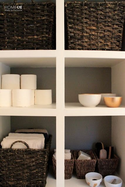 Photo of Recessed Bathroom Storage – Home Made By Carmona