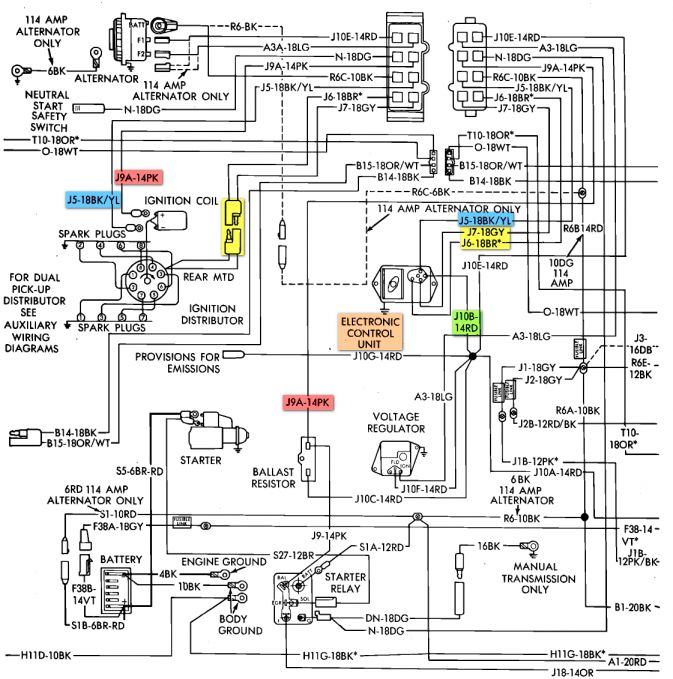 15  1977 Dodge Truck Wiring Diagram