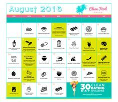 Download your FREE August Cleanfoodcrush Calendar for recipes & ideas. 🍏 August Clean Eating Calendar http://cleanfoodcrush.com/aug-calendar