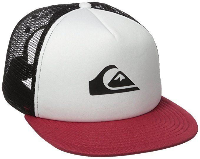 64483c072c1a6 Quiksilver Men s Snap Addict Trucker Hat