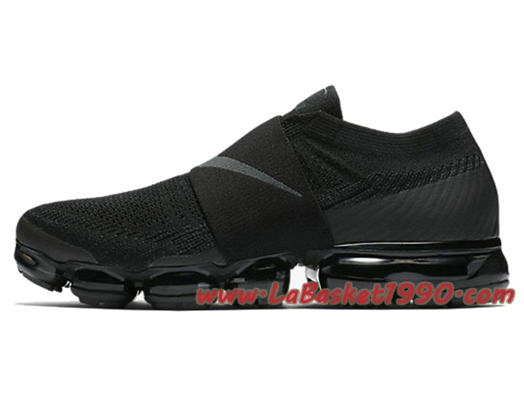 newest a2844 39aa1 Nike Air VaporMax Flyknit Moc AH3397-004 Chaussures NIke 2018 Pas Cher Pour  Homme Noir