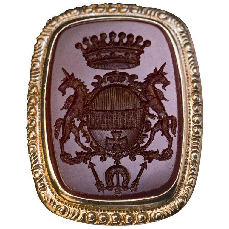 1stdibs Antique 19Th Century Aristocrat Ring