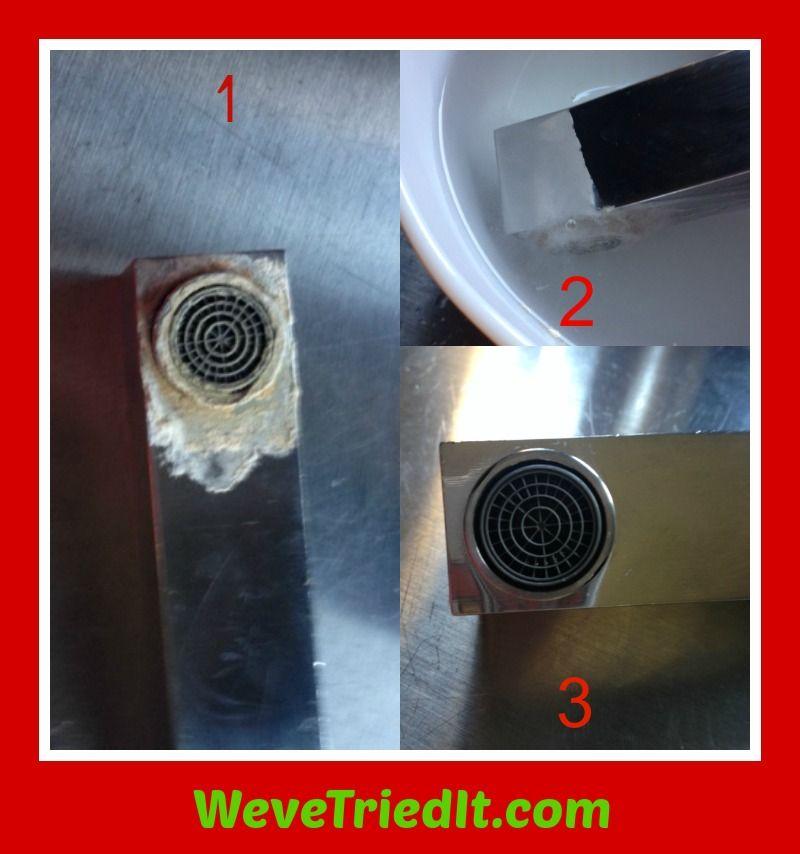 WTI: Get rid of hard water deposits - Heat up vinegar (enough to ...