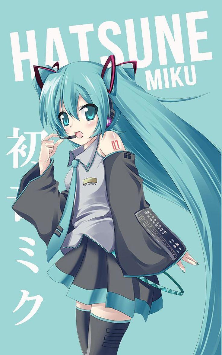 Miku Hatsune Wallpaper Penelusuran Google Sao Iiiiii And Anime Character Names Anime Chibi Hatsune Miku