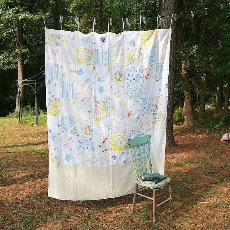 DIY Curtains for Your Craft Booth Creative