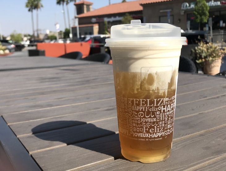 Cheese tea is the boba booms sweet and salty new wave