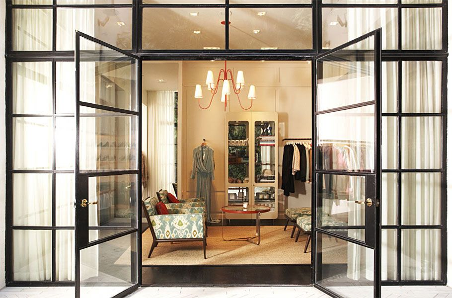 Great Boutique Space Love The Red Chandelier Capitol In Charlotte NC