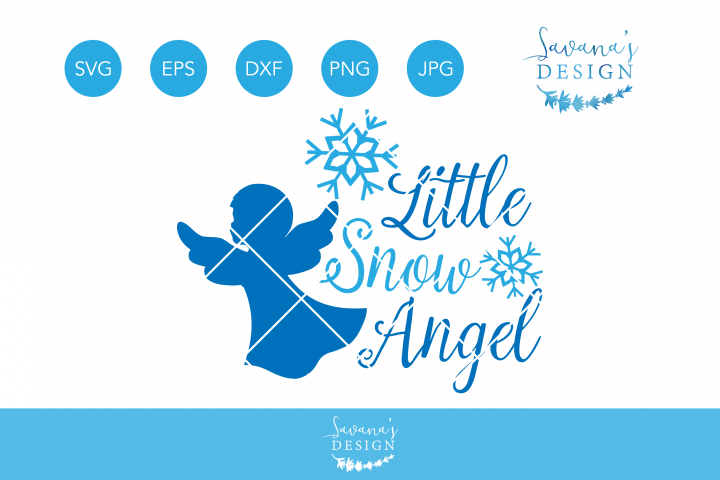 Little Snow Angel Svg Christmas Angel Svg Christmas Svg Winter Svg Snow Svg Snowflake Svg Svg Files For Cricut Snow Angels Christmas Angels Christmas Svg