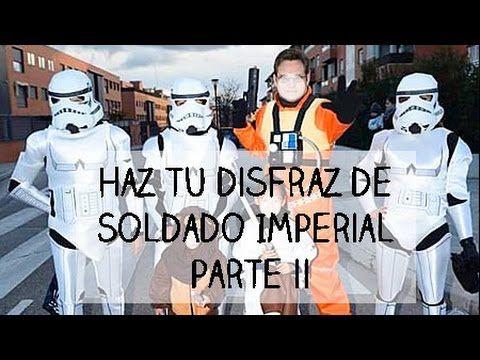 Cómo Hacer un Disfraz de Trooper o Soldado Imperial  Parte II ⭐ I  Craftabulous - YouTube dcbbda6a76b7