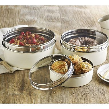 3 Lakeland Clear View Cake Tins   From Lakeland