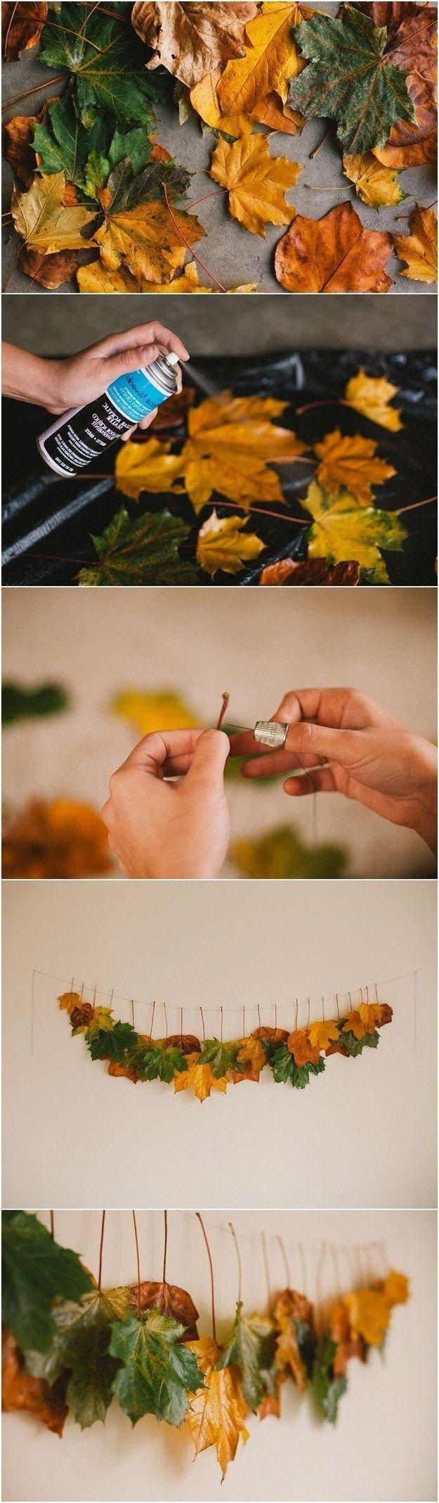 Tischdeko Herbst: 41 Dekoideen - DIY, modern und im skandinavischen ...