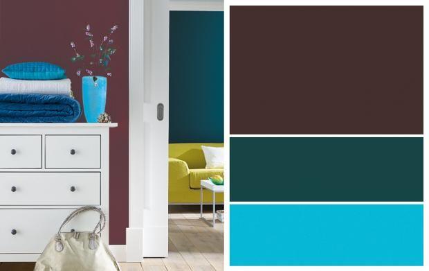Farbe Petrol Kombinieren wohnen mit farben stilkarten schöner wohnen farbe schöner