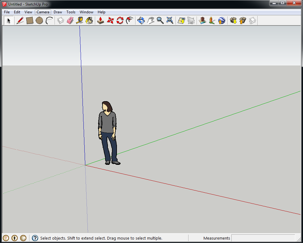 Introduction To The Sketchup User Interface Sketchup Knowledge