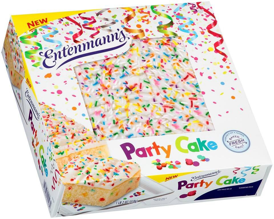 Entenmanns Party Cake Wow