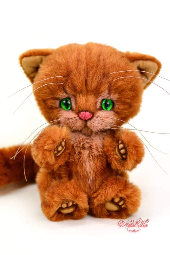 PDF tutorial and pattern teddy cat Adi 6.1\
