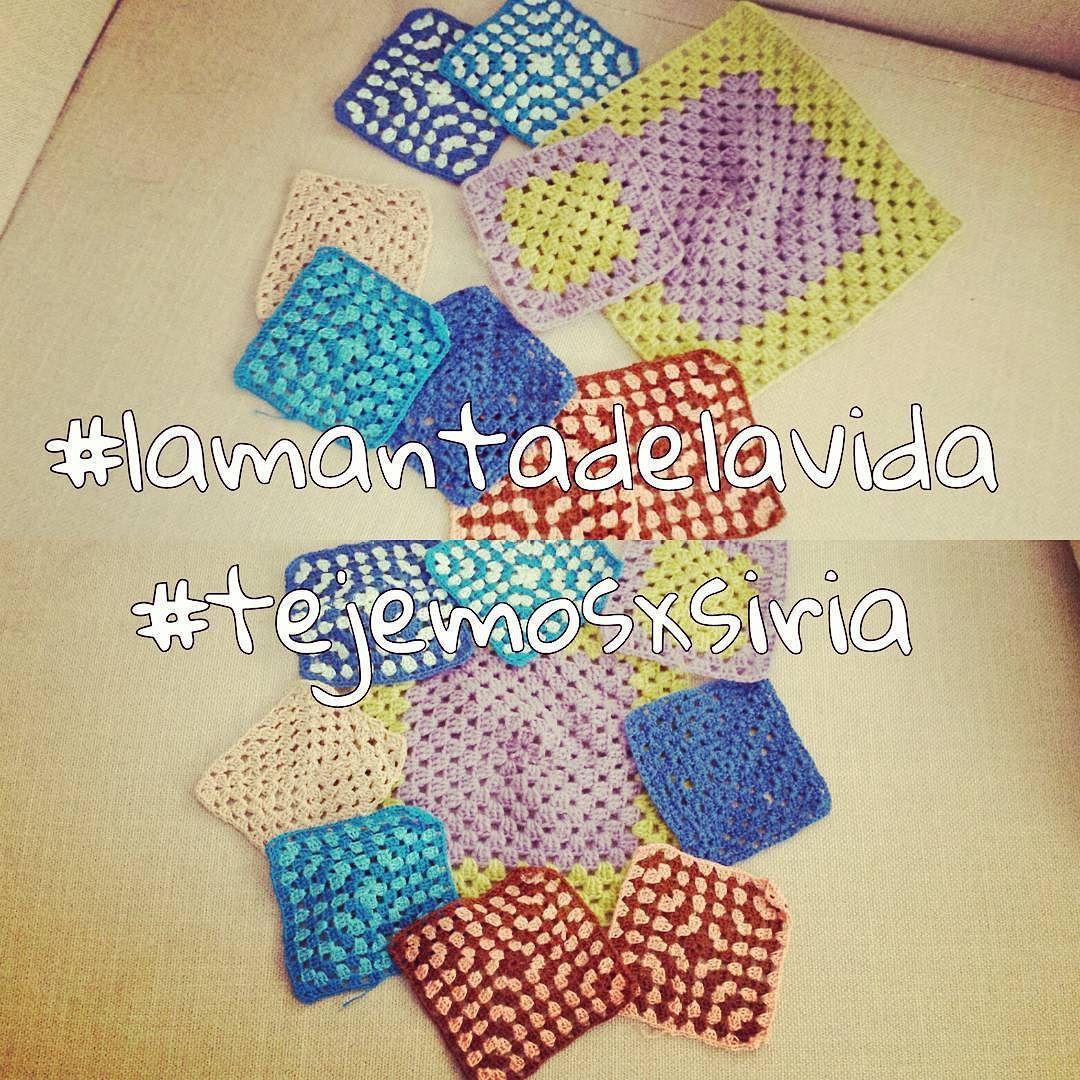 Que de #grannys tengo ya para #lamantadelavida #tejemosxsiria !!! #ganchillosolidario #ganchillo #crochet #lovecrochet #instacrochet #amazingcrochet #crochetaddict #crochetobsession #lovecrochet #solidarycrochet #tejermolamucho #tejeresmimeditacion #crochetismyhobby #crochetisthenewyoga #crochetlove #crocheting by gourgourcrosetta