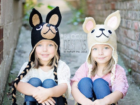 Pixie and Maxi the Chihuahua Hat PDF Crochet Pattern. Chihuahua Puppy Dog  Animal Hat Crochet Pattern Available Aug 16th db6b68a8bce2