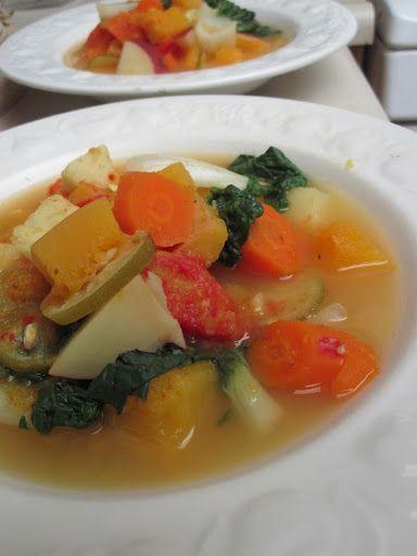 Sopa de Lima con Gengibre y Vegetales Especiales | Huerta de Salud