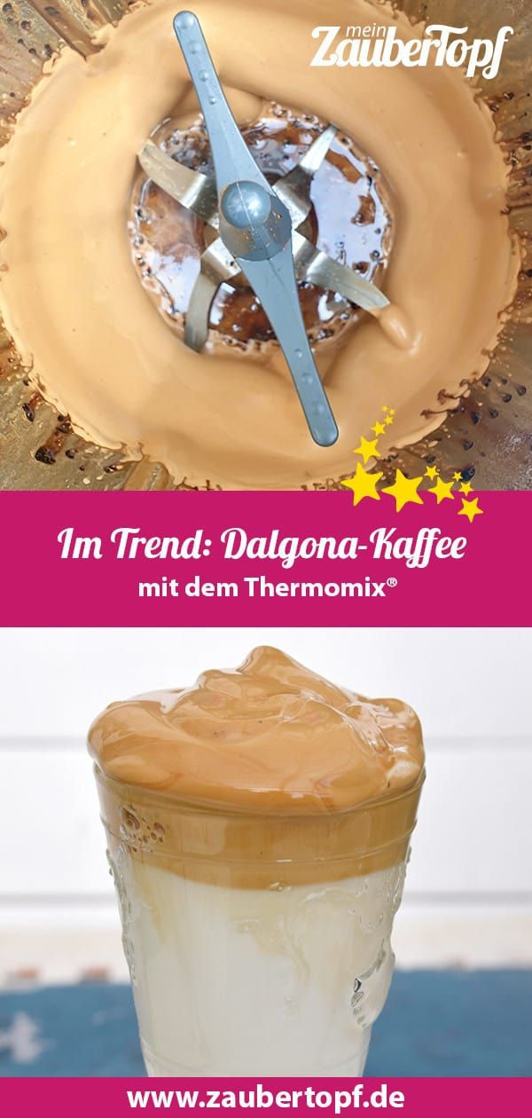 Im Trend: Dalgona-Kaffee – Rezept für den Thermomix