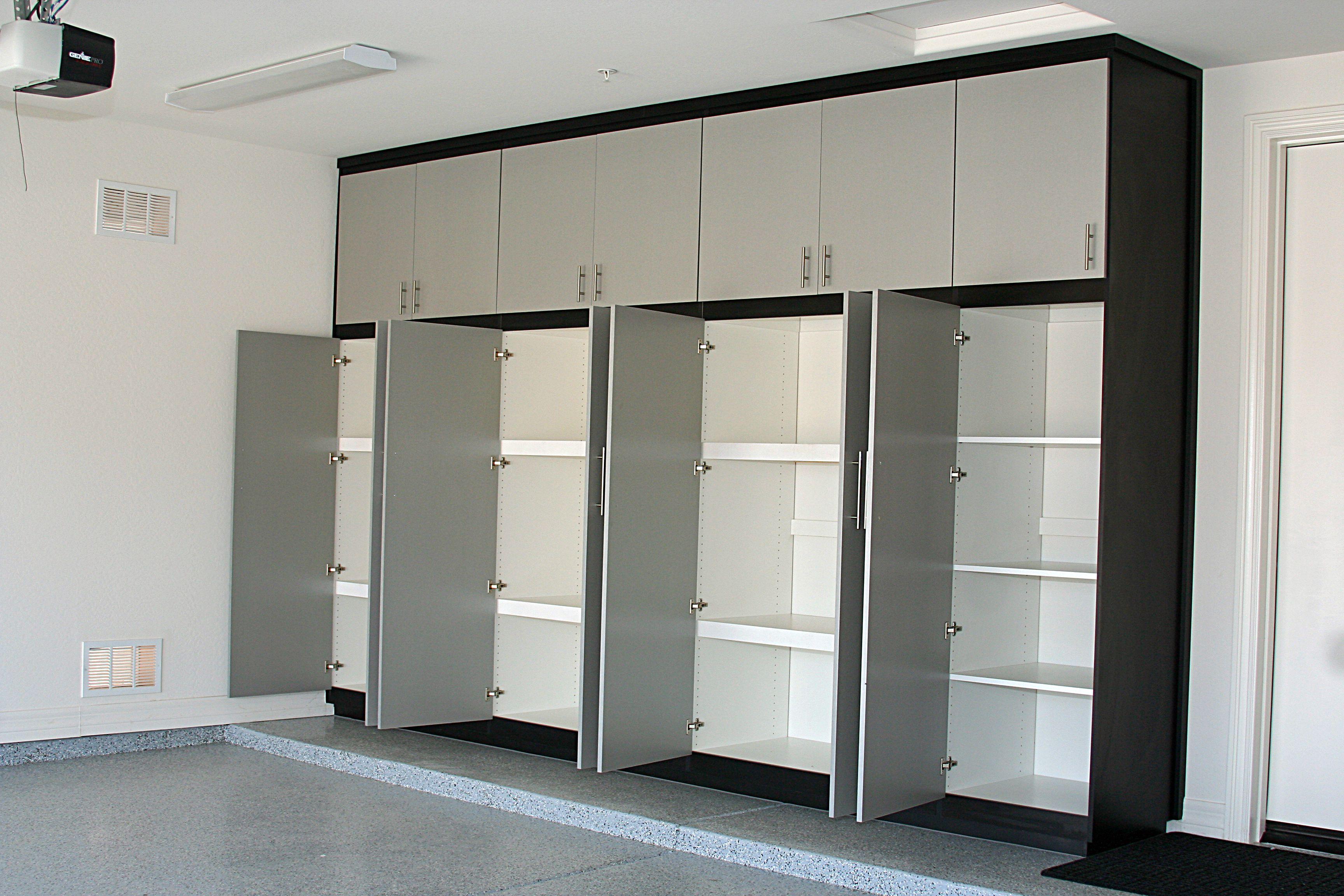 Strongest Garage Shelves With Baltic Birch Supports Etagere Garage Armoire Rangement Garage Organisation De Petit Garage